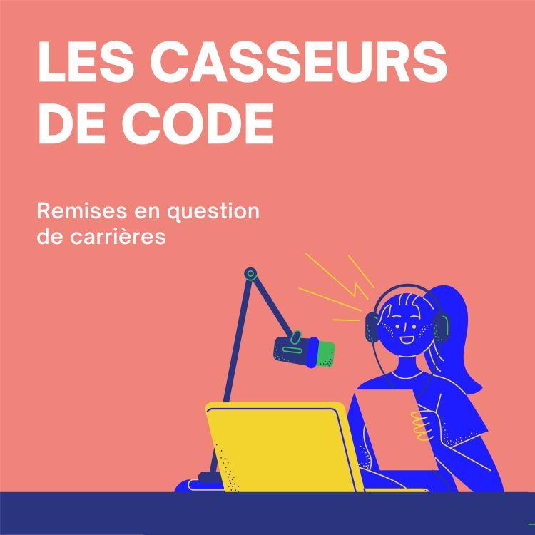 """cover art for """"Savoir coder est indispensable quand on veut travailler avec des dévs"""" -Clément"""