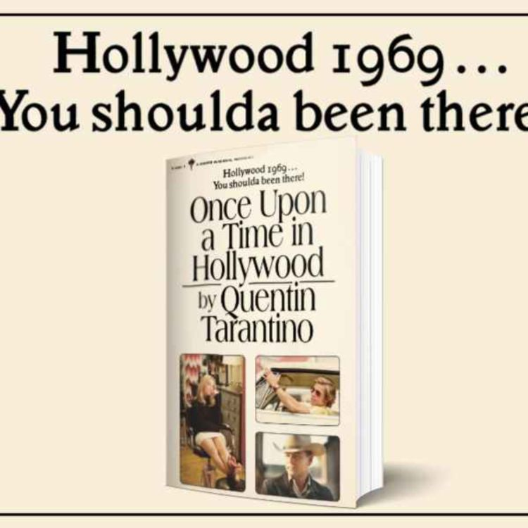 cover art for Once Upon a Time in Hollywood: The Novelisation