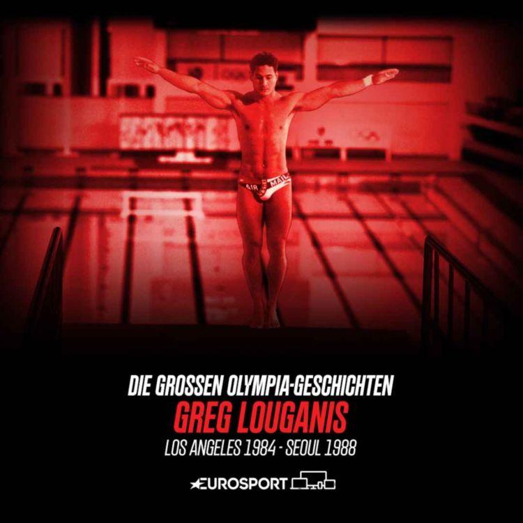 "cover art for #8 Louganis - ""Mr. Perfect"" springt der Angst ins Auge"