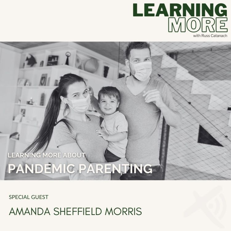 cover art for Pandemic Parenting
