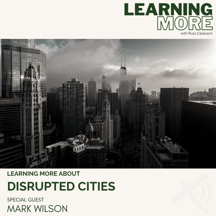 cover art for Disrupted Cities