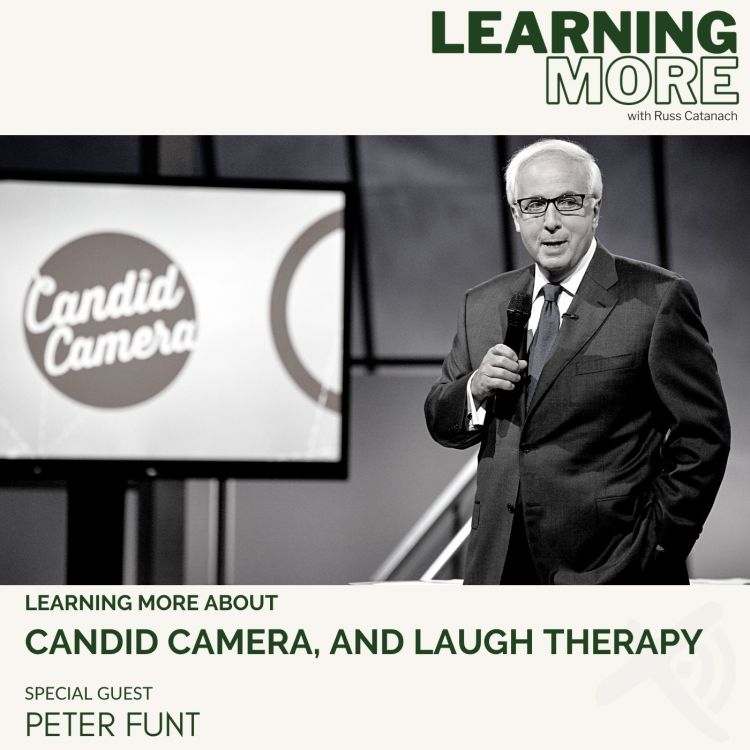 cover art for Peter Funt, Candid Camera, and Laugh Therapy