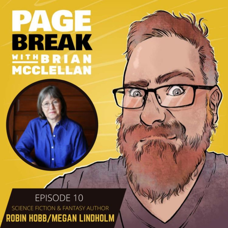 cover art for Ep 10 - Robin Hobb/Megan Lindholm - Science Fiction and Fantasy Author