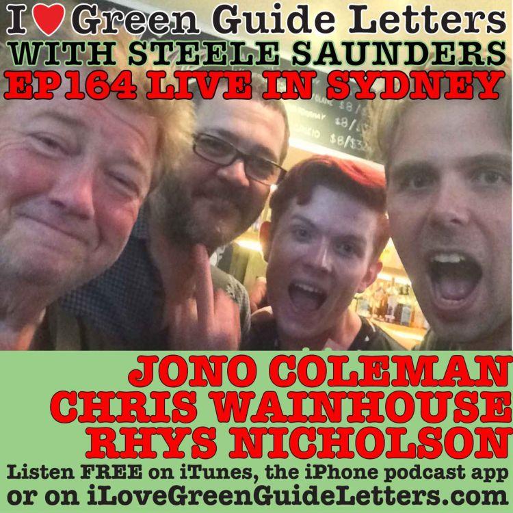 cover art for CLASSIC Ep 164 : LIVE! Jono Coleman, Chris Wainhouse & Rhys Nicholson love the 19/03/15 Letters