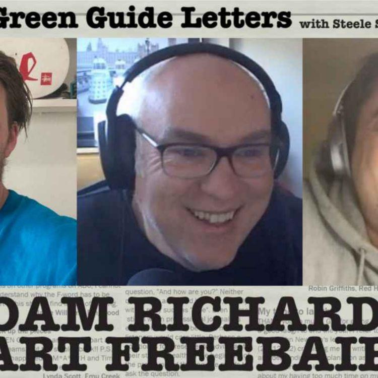 cover art for Ep 272 : Adam Richard & Bart Freebairn Love The 24/06/21 Letters