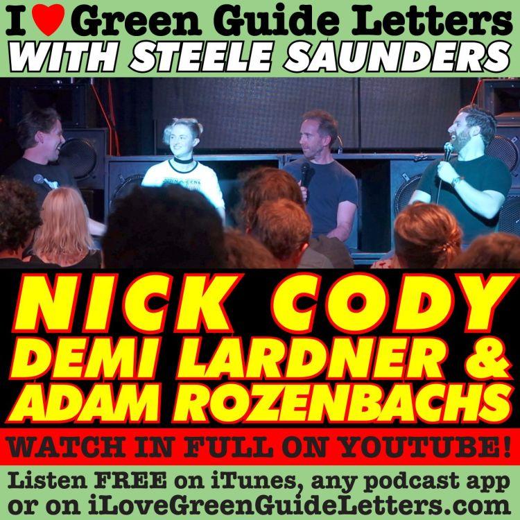 cover art for Ep 268 : LIVE! Nick Cody, Demi Lardner & Adam Rozenbachs Love The 22/03/18 Letters