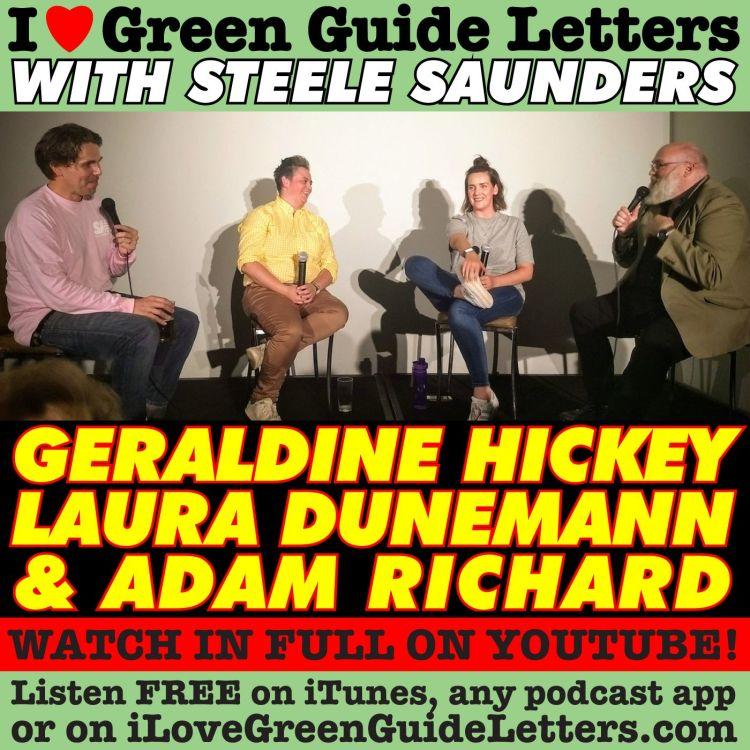 cover art for Ep 267 : LIVE! Geraldine Hickey, Laura Dunemann & Adam Richard Love The 15/03/18 Letters