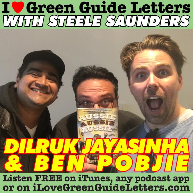 cover art for Ep 263 : Dilruk Jayasinha & Ben Pobjie Love The 13/07/17 Letters