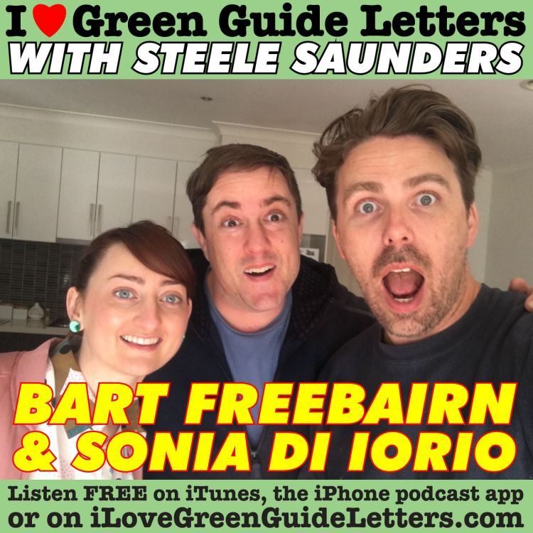 cover art for Ep 262 : Bart Freebairn & Sonia Di lorio Love The 06/07/17 Letters