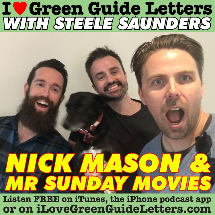 cover art for Ep 261 : Mr Sunday Movies & Nick Mason Love The 29/06/17 Letters
