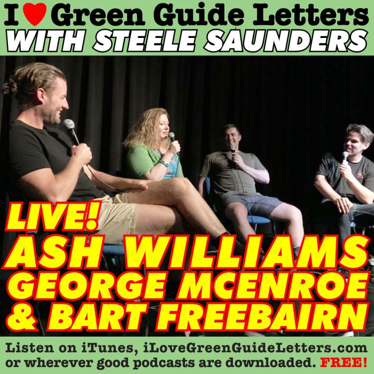 cover art for Ep 259 : LIVE! Ash Williams, George McEncroe & Bart Freebairn Love The 15/06/17 Letters