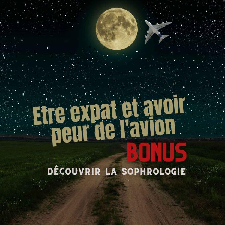 cover art for Bonus : Découvrez une séance de sophrologie avec Karine Vallade, chef de cabine et sophrologue (peur en avion)