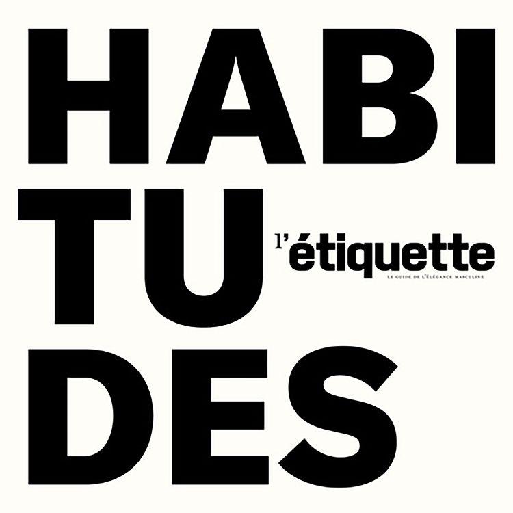cover art for HABITUDES #17 - Bertrand Burgalat