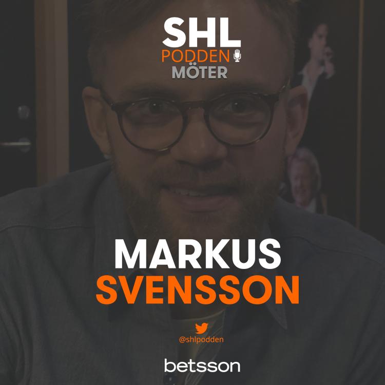 cover art for SHL-podden möter Markus Svensson