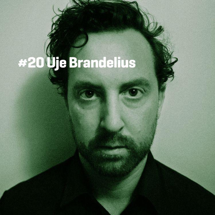 cover art for #20 Uje Brandelius (Doktor Kosmos)