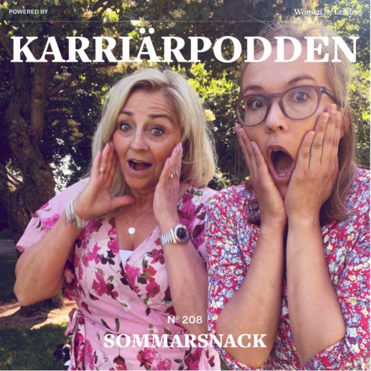 cover art for #208 Sommarsnack med Eva och Fanny, del 3 - Stressad, eller?