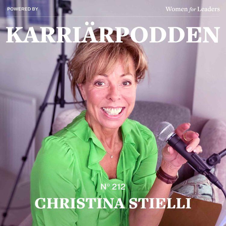 cover art for #212 Christina Stielli - Föreläsare och författare