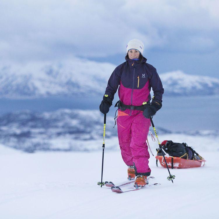 cover art for Johanna Davidsson tillbaka från Sydpolen!
