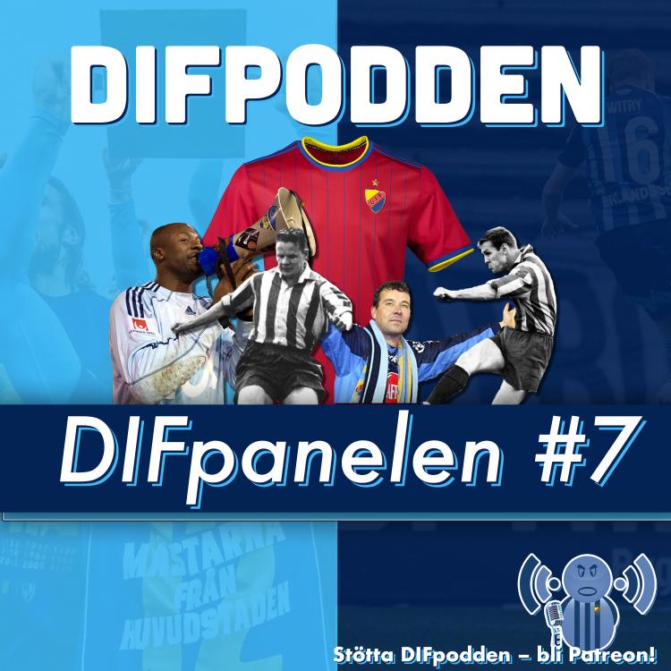 cover art for DIFpodden (2.0) DIFpanelen #7
