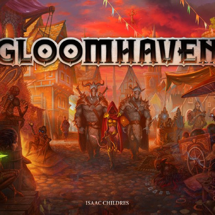 cover art for #85 Gloomhaven