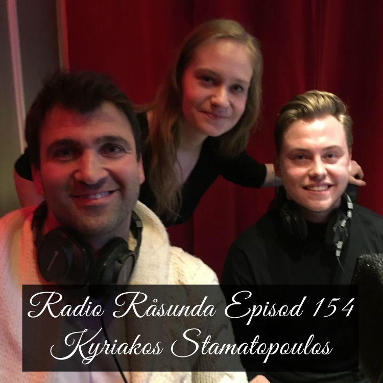 cover art for Radio Råsunda #154 Kyriakos Stamatopoulos