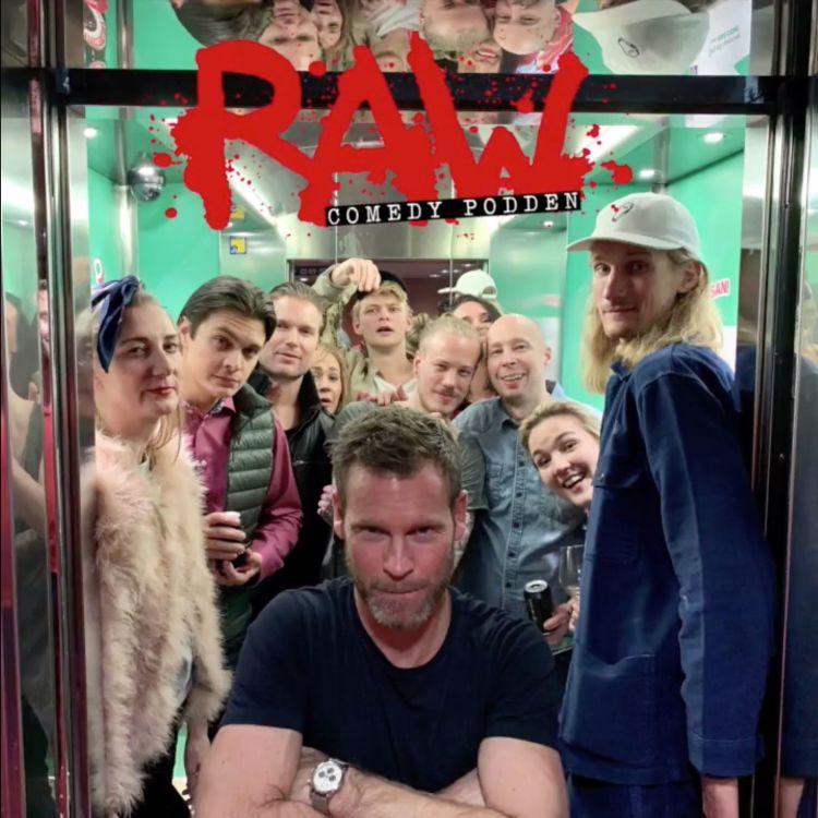 cover art for Live från RAW comedy cruise - med Johanna Nordström, Marcus Berggren, Hampus Hedström, Mårten Andersson mfl!