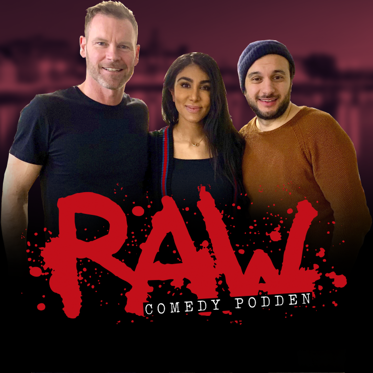 cover art for Farzad Nouri och Melody Farshin om romandebuter och standup med Dogge