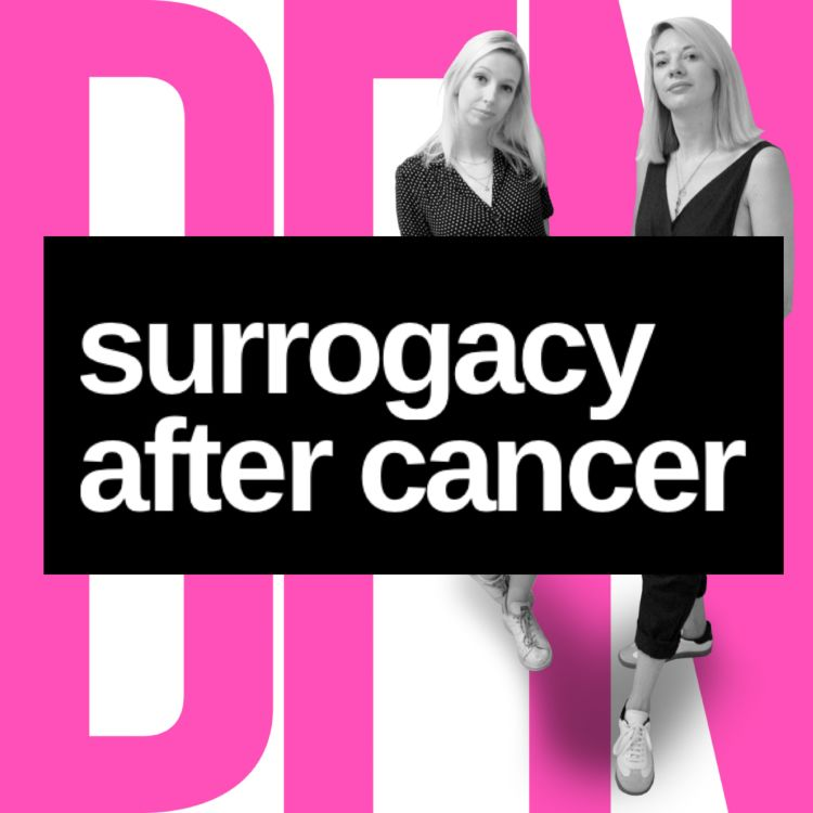 cover art for Surrogacy after cancer