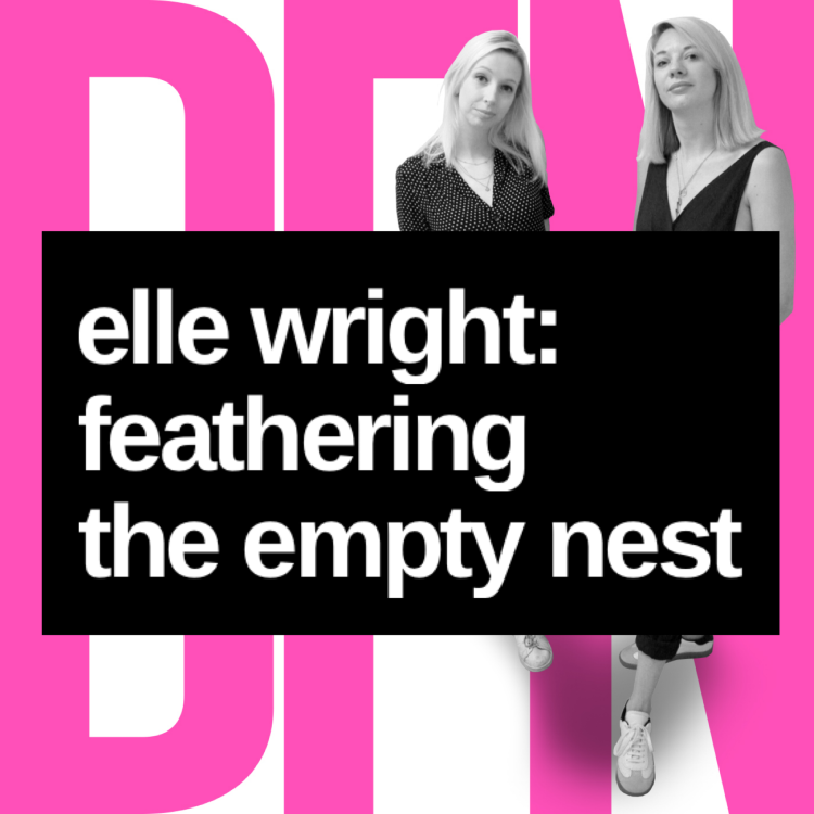 cover art for Elle Wright: Feathering the Empty Next