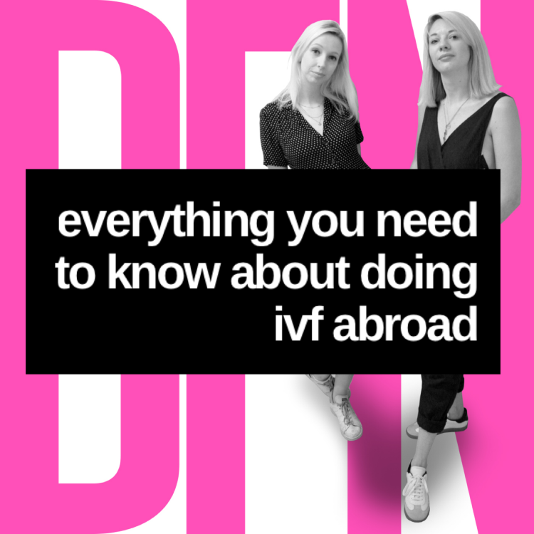 cover art for Doing IVF abroad: Everything you need to know