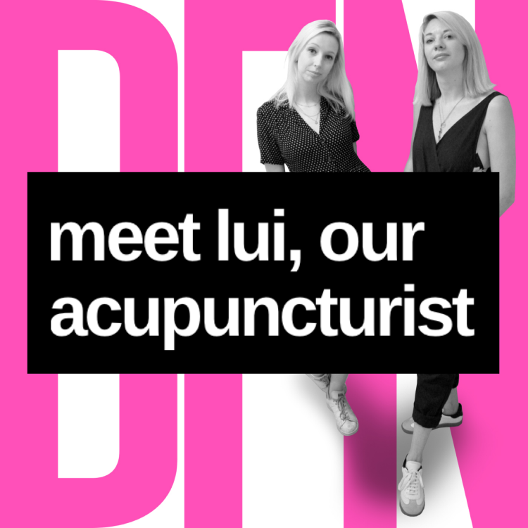 cover art for Meet Lui, our acupuncturist