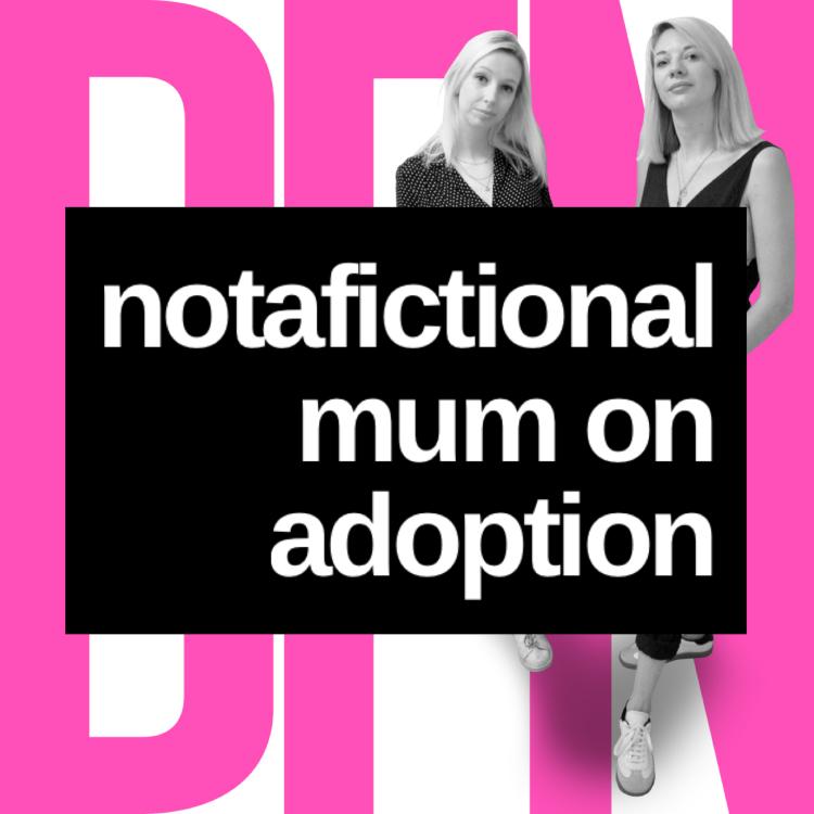 cover art for Notafictionalmum on adoption