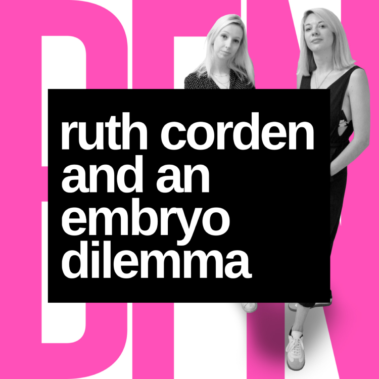 cover art for Ruth Corden and an embryo dilemma