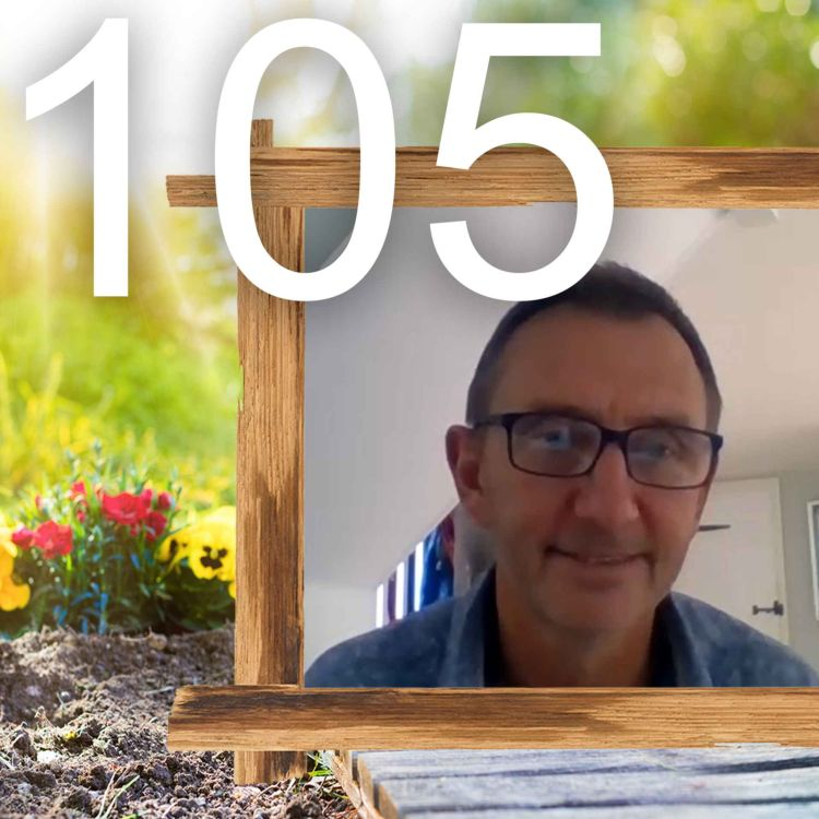 cover art for 105 - An Interview with Professor Dave Goulson