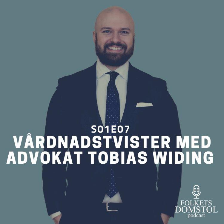 cover art for SO1E07: Vårdnadstvister med Advokat Tobias Widing