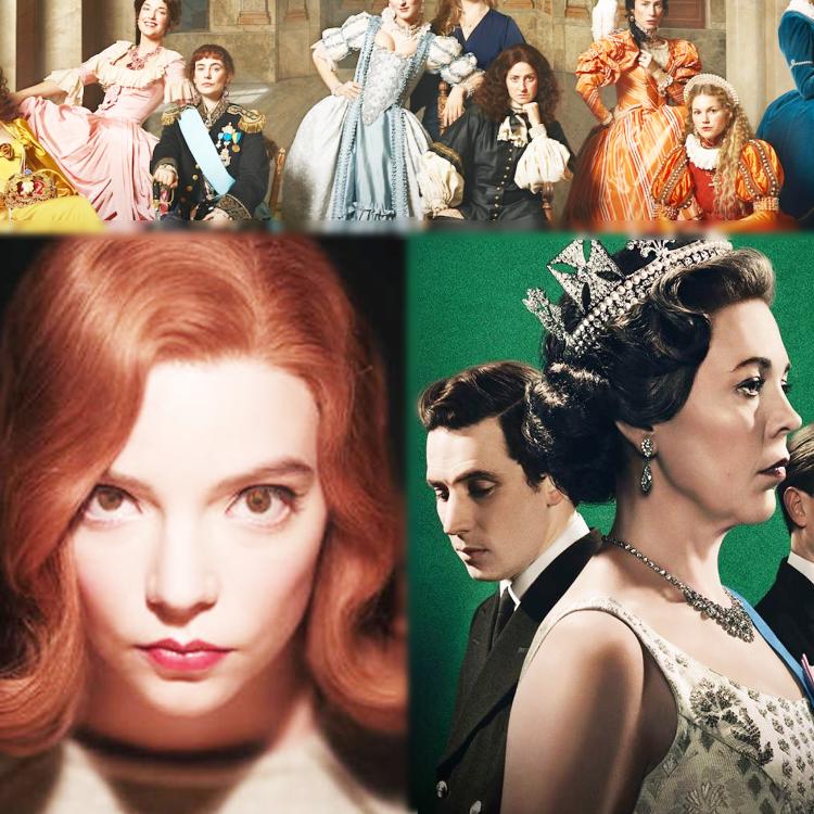 cover art for TV-drottningarna anfaller!