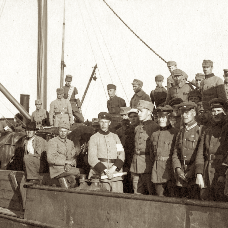 cover art for Frändefolkskrigen 1918-1922: Nordens okända storkrig