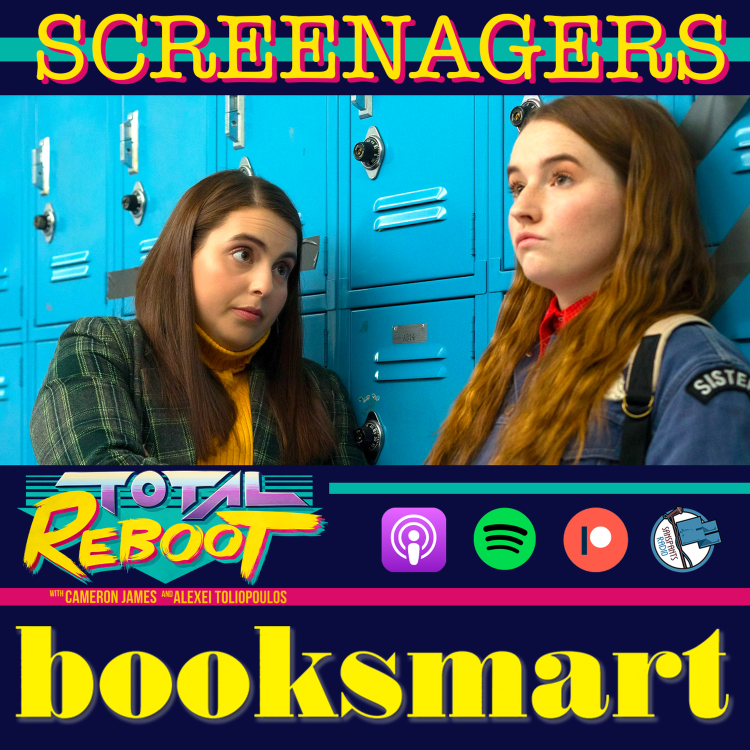 cover art for Booksmart (2019) {SCREENAGERS}