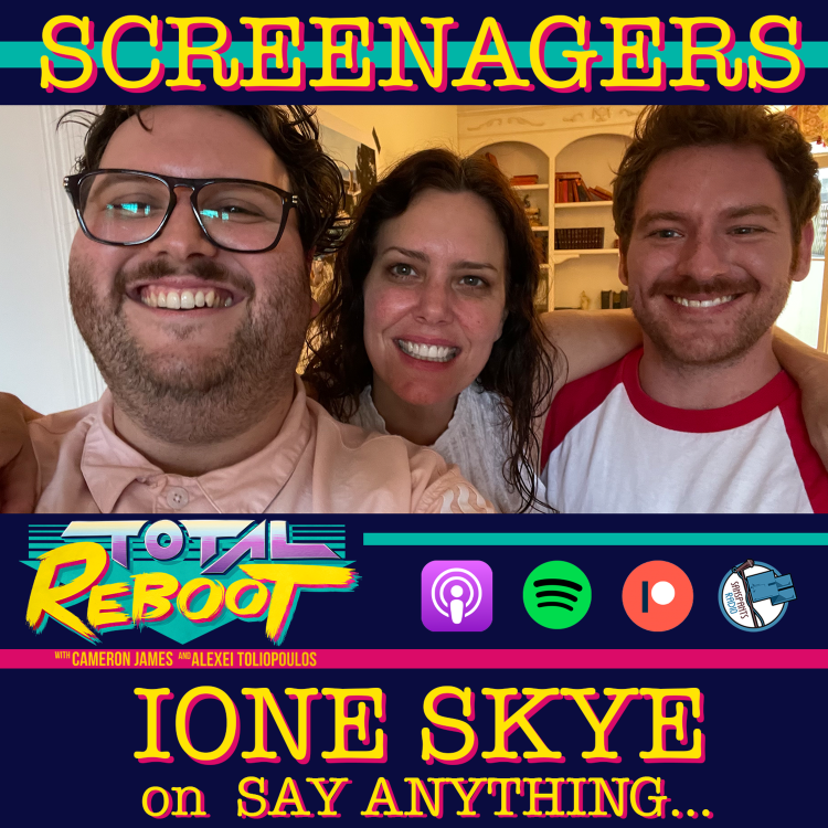 cover art for Ione Skye on SAY ANYTHING... {SCREENAGERS}