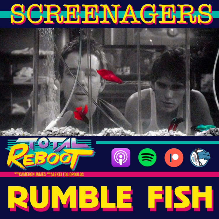 cover art for Rumble Fish (1983) {SCREENAGERS}