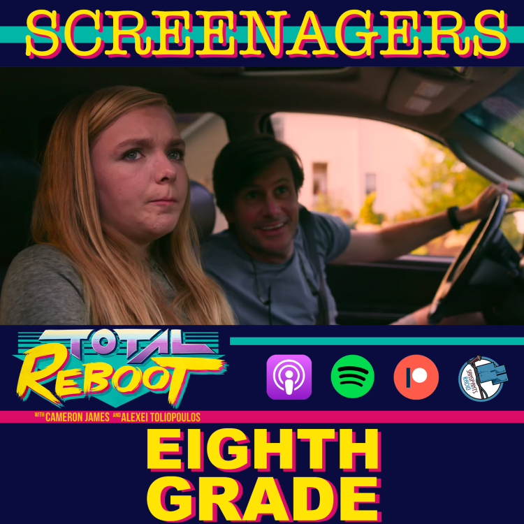 cover art for Eighth Grade (2018) {SCREENAGERS}