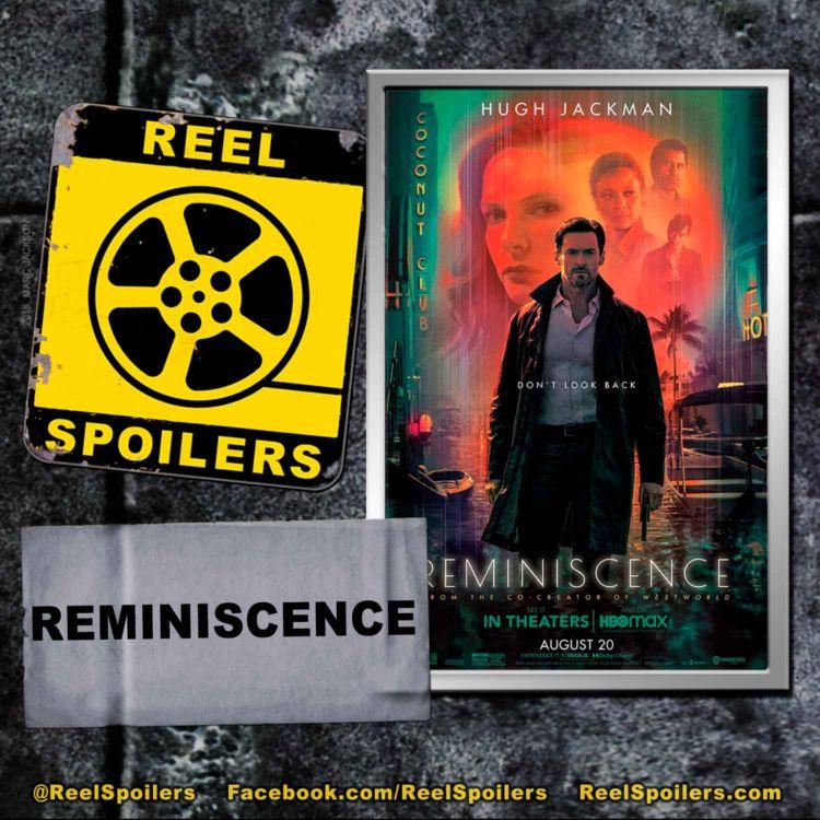 cover art for REMINISCENCE Starring Hugh Jackman, Rebecca Ferguson, Thandie Newton