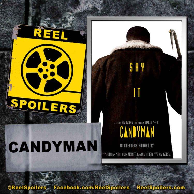 cover art for CANDYMAN Starring Yahya Abdul-Mateen II, Teyonah Parris, Colman Domingo
