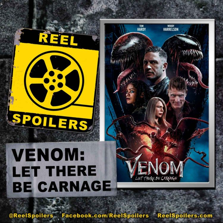 cover art for VENOM: LET THERE BE CARNAGE Starring Tom Hardy, Woody Harrelson, Michelle Williams