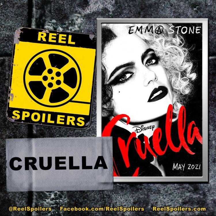 cover art for Disney's CRUELLA Starring Emma Stone, Emma Thompson, Joel Fry, Paul Walter Hauser