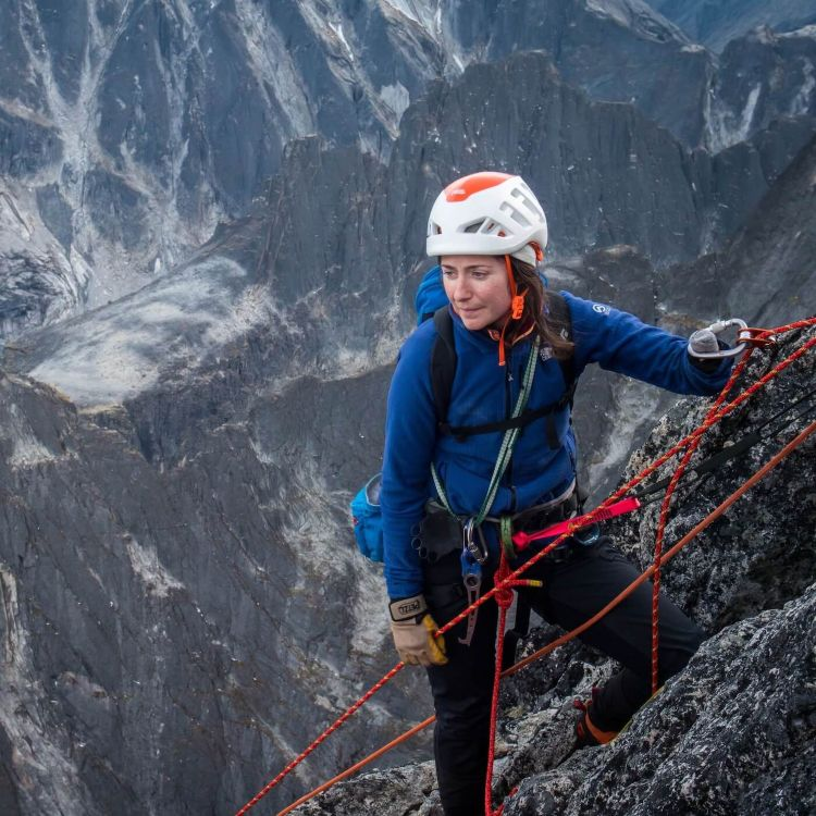 cover art for #22: The Spirit of a Rock Climber – with Maureen Beck