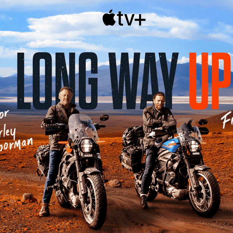cover art for #11: Long Way Up – New adventures on two wheels – with Charley Boorman