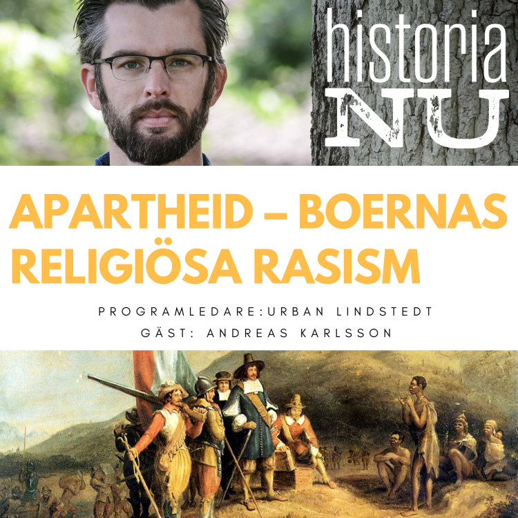 cover art for Aparthied – vägen till boernas religiösa rasism