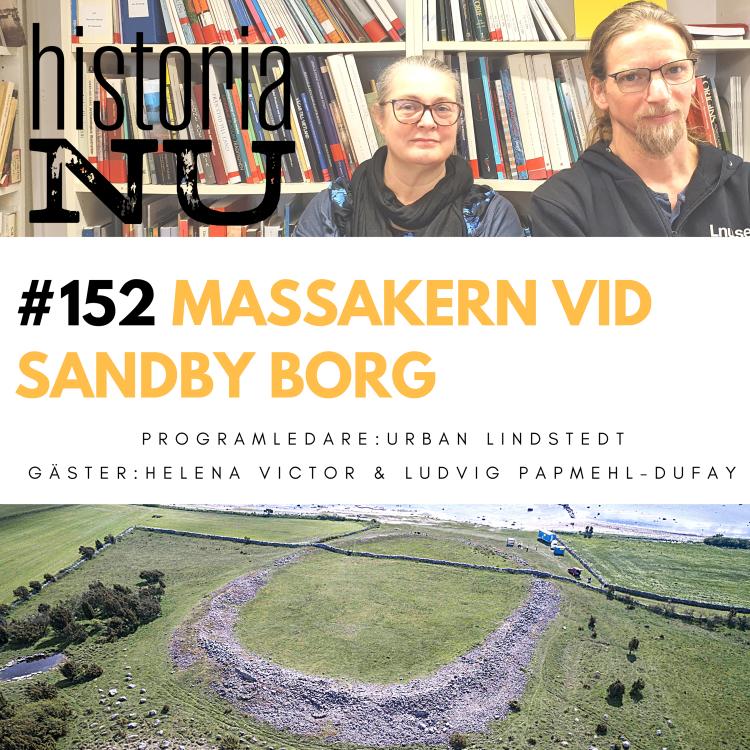 cover art for Sandby borg – en massaker frusen i tiden