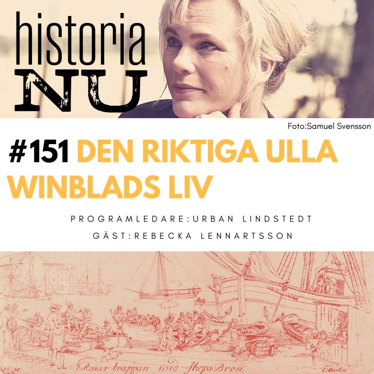 cover art for Ulla Winblads sorgliga liv bortom Bellman